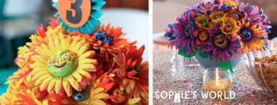 Clay Face Flower Bouquets|sophie-world.com