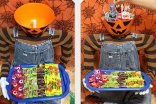 Halloween Roundup Candy-Dummy Tray|sophie-world.com