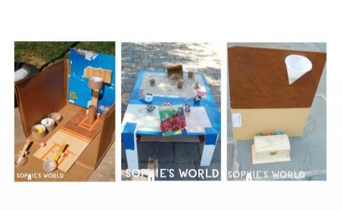 Cardboard Arcade Games on