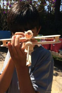 Popsicle Stick Crossbow|Kids Camp Creation|sophie-world.com
