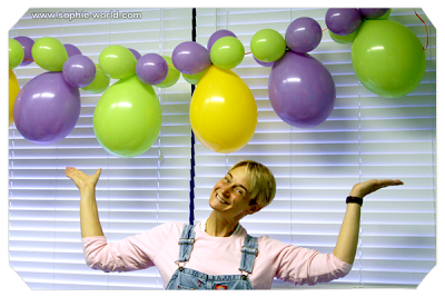 Create balloon lanterns|sophie-world.com