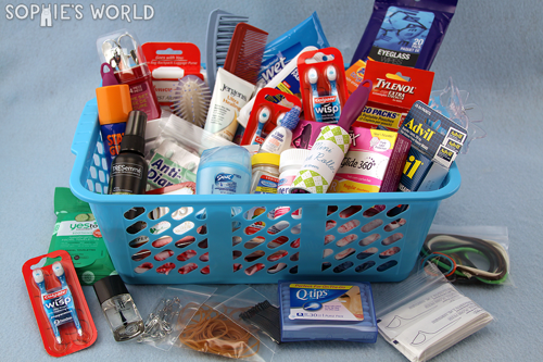 Bathroom Baskets Emergency Essentials For Your Event