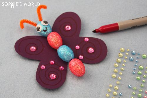 Blog- Dollar Store Crafts- Butterfly|sophie-world.com