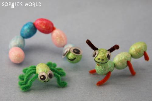 Blog- Dollar Store Crafts- Insect Family |sophie-world.com