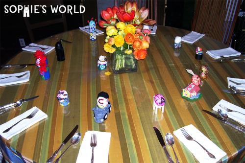 Easter Brunch Place setting|sophie-world.com