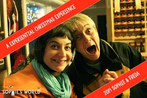 Experiential Christmas Experience|sophie & freda|sophie-world.com