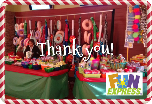 thank you fun express | sophie-world.com