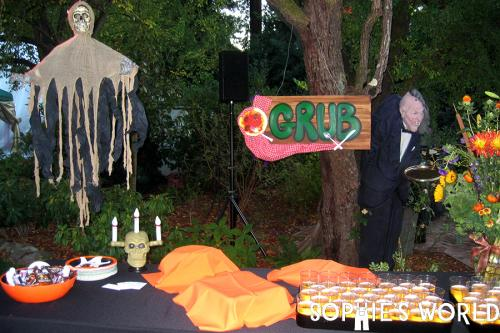 Halloween Party Decoration-Food Station-Wild Wild West Theme|sophie-world.com