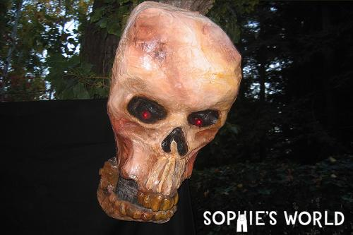 Halloween Decoration Year Three- Talking Skull|sophie-world.com