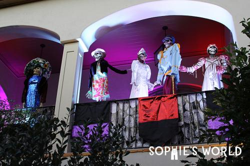 Most Amazing Halloween Parties- Nighttime Decoration-Year Seven|sophie-world.com