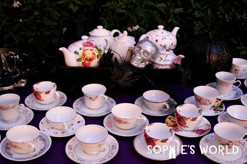 Most Amazing Halloween Parties- Decoration-Year Seven|Tea Time|sophie-world.com