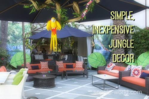 simple jungle decor | sophie-world.com