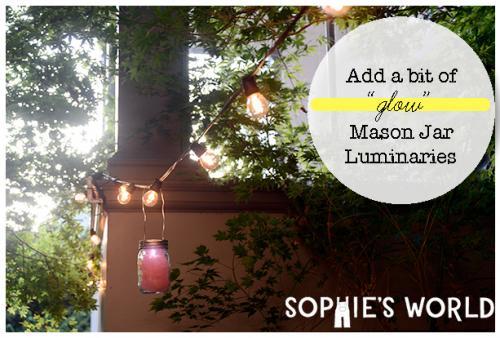 Mason Jar Luminaries|Decorations|sophie-world.com