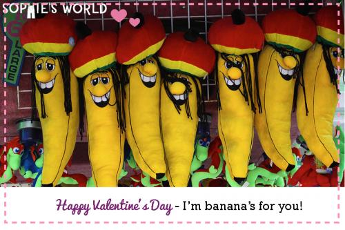 My Punny Valentine-I am banana's for you|sophie-world.com