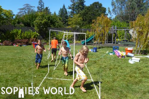 Backyard Water Park Ideas from sophie-world.com