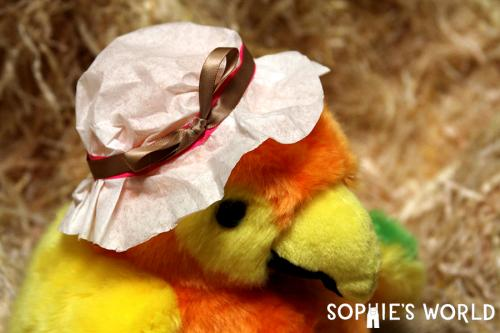 Simple Doll Bonnet sophie-world.com