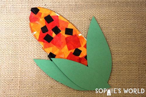 Tissue Paper Kernel Craft sophie-world.com