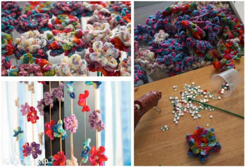 Crochet Flower Arrangements|sophie-world.com