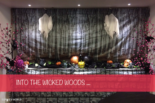 Into the Wicked Woods|Halloween Party Design|sophie-world.com