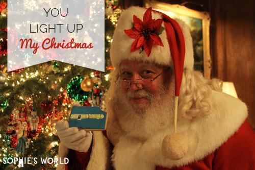 You Light up My Christmas sophie-world.com