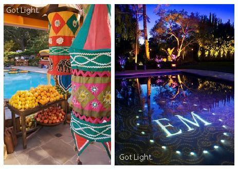Pool Party Lighting|Blog| Got light|sophie-world.com