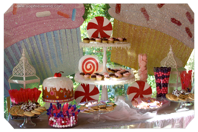 A candy buffet|sophie-world.com