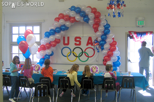 A Combined Olympic Party|sophie-world.com