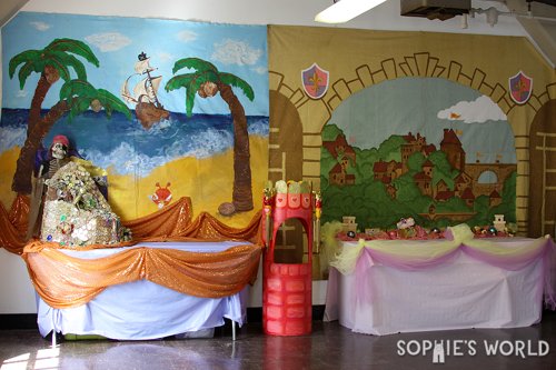 A combined pirate and priness party|sophie-world.com