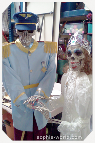 these skeletons are no dummies|sophie-world.com