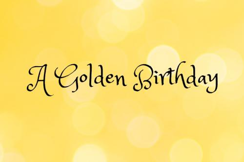 golden birthday glam | sophie-world.com