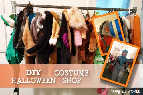 DIY Halloween Costume Shop|sophie-world.com