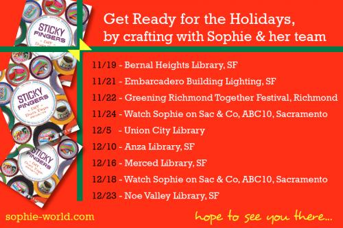 Sophie's Holiday Calendar|sophie-world.com