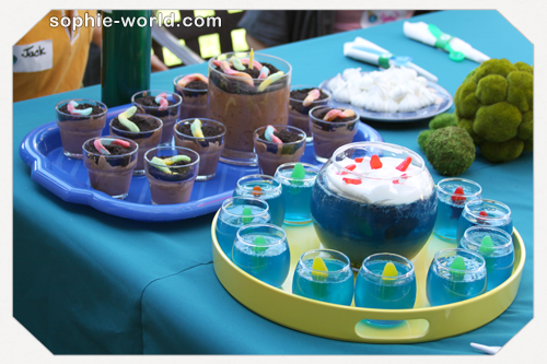 creative birthday desserts can be made from jello and pudding