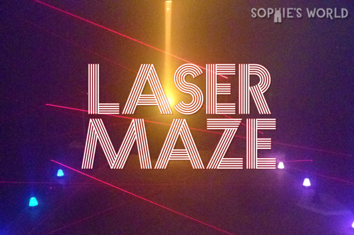 Lase Maze Header|sophie-world.com