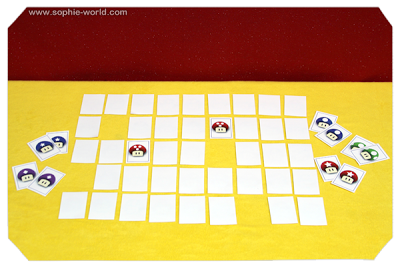 A matching game with a video game twist|sophie-world.com