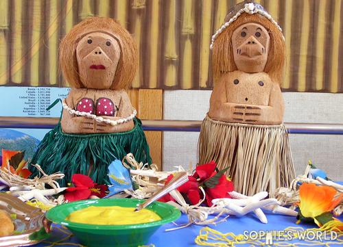 Monkeys guarding the buffet sophie-world.com