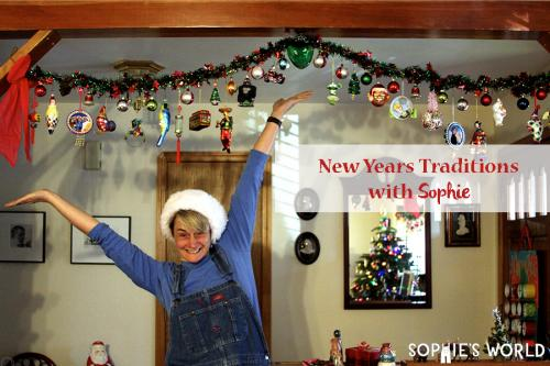 Celebrate the New Years with Sophie and some fun Holiday Traditions sophie-world.com