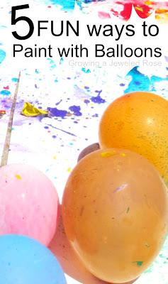 Sophie 39 s world for Fun things to do with water balloons