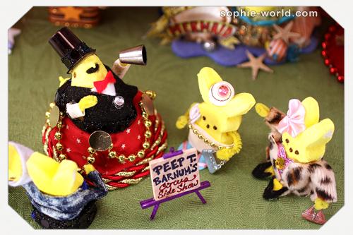 Every circus needs a barker|sophie-world.com