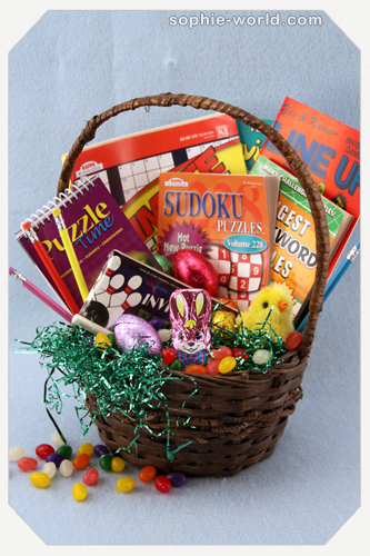 Youre never too old for an easter basket sophies world a puzzling easter basketsophie world negle Images
