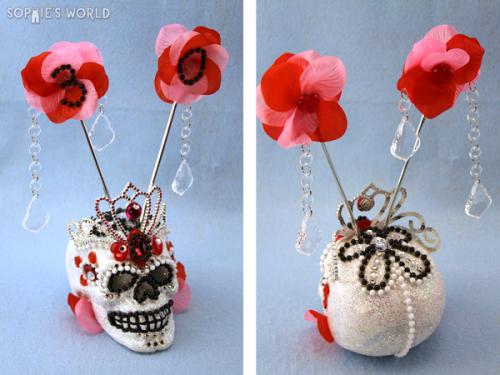 Completed Sugar Skull}sophie-world.com