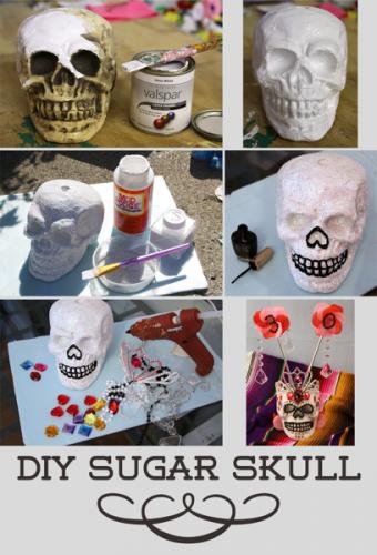 Sugar Skull How to|sophie-world.com