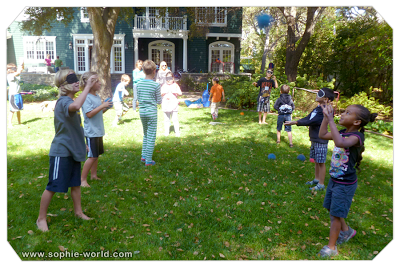 Games for the group at summer camp|sophie-world.com