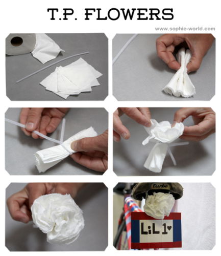 Toilet paper poofs for your bikesophie-world.com