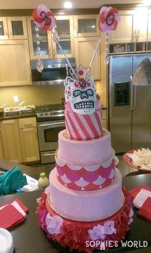 The Treinta cake|sophie-world.com