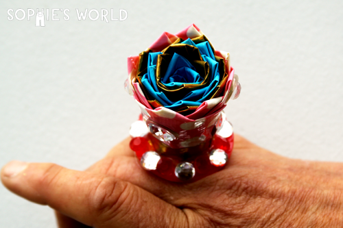 How To Make A Duct Tape Flower Ring