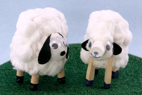 How To Make Paper Cup Lambs