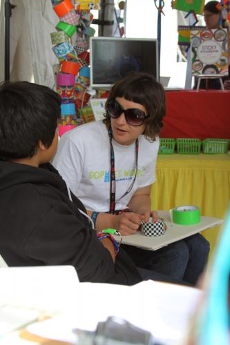 Freda at Maker Faire|sophie-world.com