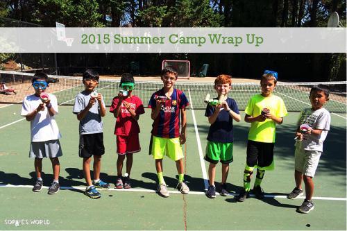 2015 Summer Camp Wrap Up|sophie-world.com