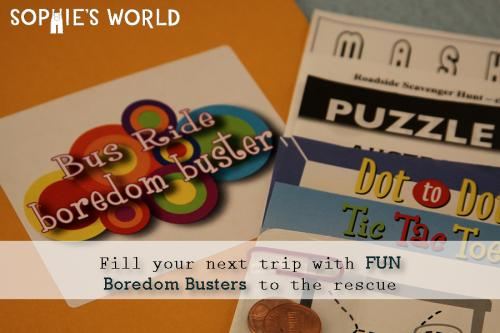 Boredom Busters Games|sophie-world.com